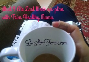 what I ate last week on plan with THM
