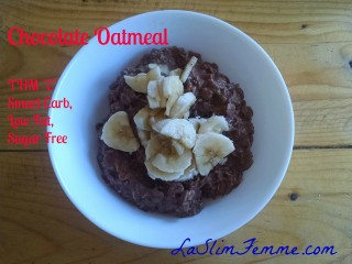 "Chocolate Oatmeal - THM ""E"""