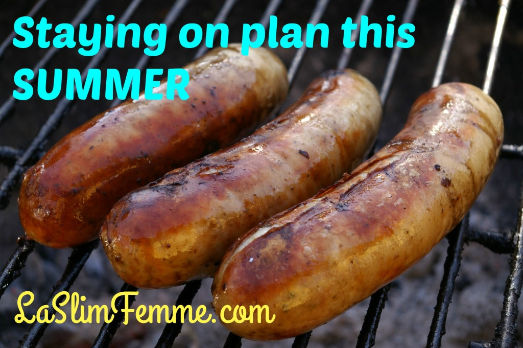 staying on plan in summer with Trim Healthy Mama