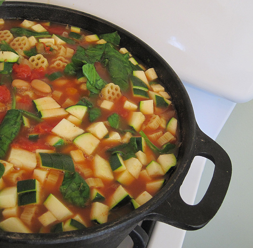 minestrone soup, TrimHealthyMama style