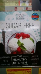 Sugar-free cookbook at ALDI
