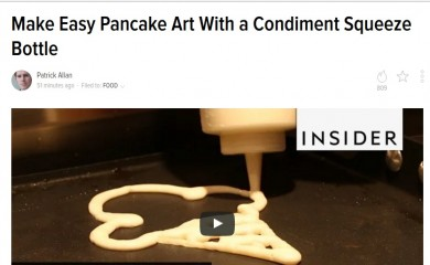 Make TrimHealthyMama Pancake Art