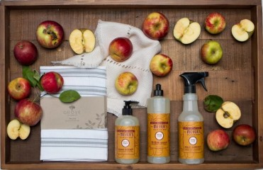 Free Mrs. Meyer's Seasonal Scents cleaning kit!