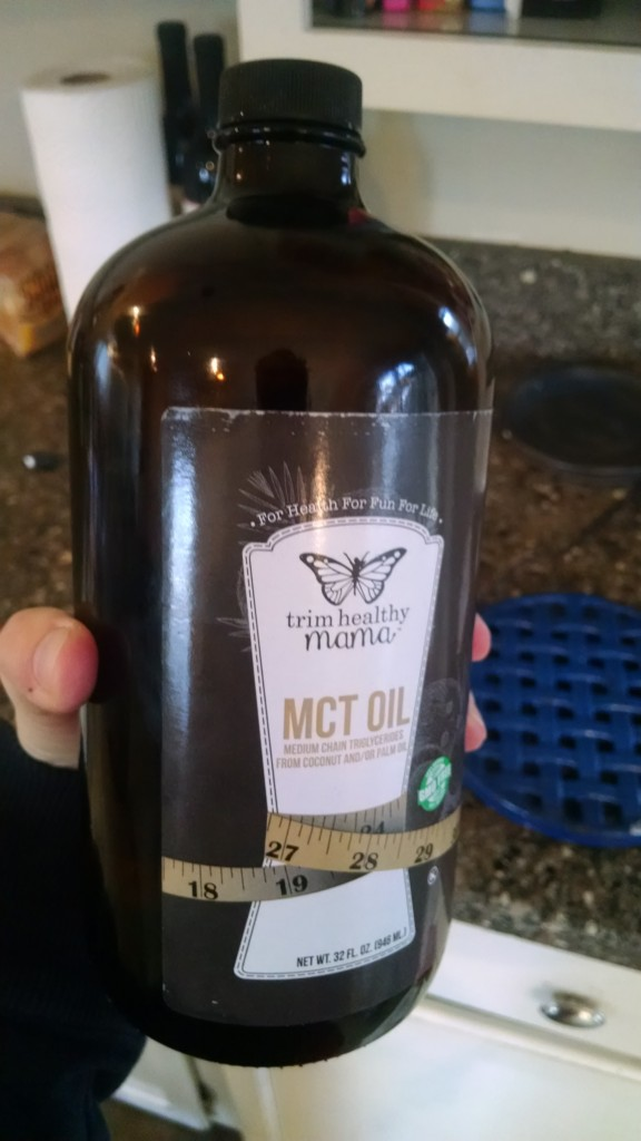 TrimHealthyMama lifestyle: MCT oil