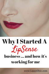 Why I Started a LipSense Business and how it's working for me