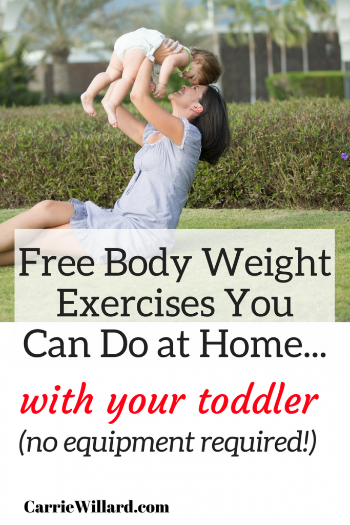 Bodyweight exercises you can do