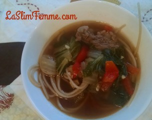 """Asian-style Beef Soup: THM """"S"""""""