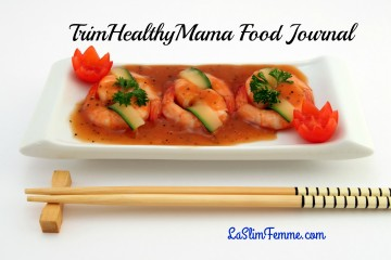 Last week's TrimHealthyMama Food Journal